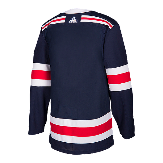 info for 91168 c6ab1 New York Rangers adidas Authentic Pro 2018 Winter Classic ...