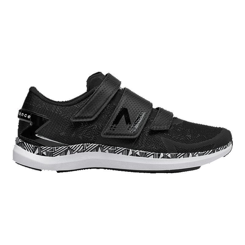 0c13b77723 New Balance Women's Cycle WX09 Training Shoes - Black/White | Sport Chek
