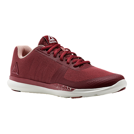 545bf11a29 Reebok Women's Sprint TR Training Shoes - Maroon/White | Sport Chek