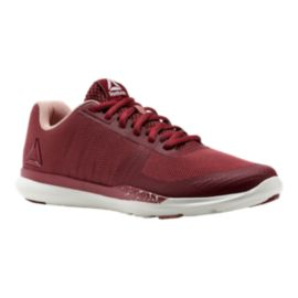 Reebok Women's Sprint TR Training Shoes - Maroon/White