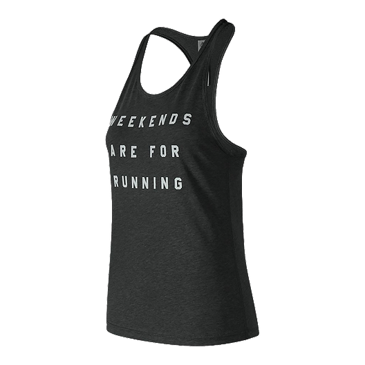 5064efb5edda1 New Balance Women's Weekends Are For Running Tank | Sport Chek