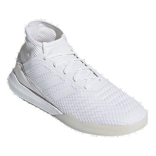 1246d3a5244 adidas Men s Predator Tango 18.3 TR Indoor Soccer Shoes - White ...