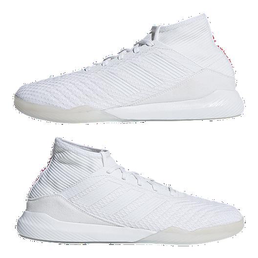 adidas Men s Predator Tango 18.3 TR Indoor Soccer Shoes - White Black ec7ccc04a