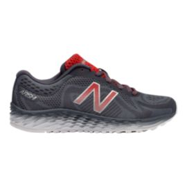 New Balance Kids' Arishi Grade School Shoes - Grey/Red