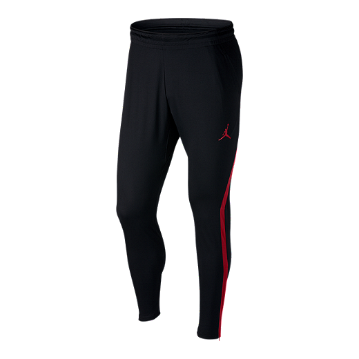 647fee846b750 Nike Dry Men's Jordan 23 Alpha Basketball Pants - BLACK/GYM RED/GYM RED