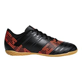 38b5f4a6a adidas Kids  Nemeziz Tango 17.4 Indoor Soccer Shoes - Black