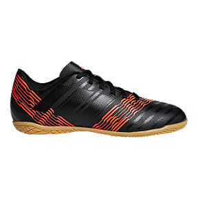 adidas Kids' Nemeziz Tango 17.4 Indoor Soccer Shoes - Black