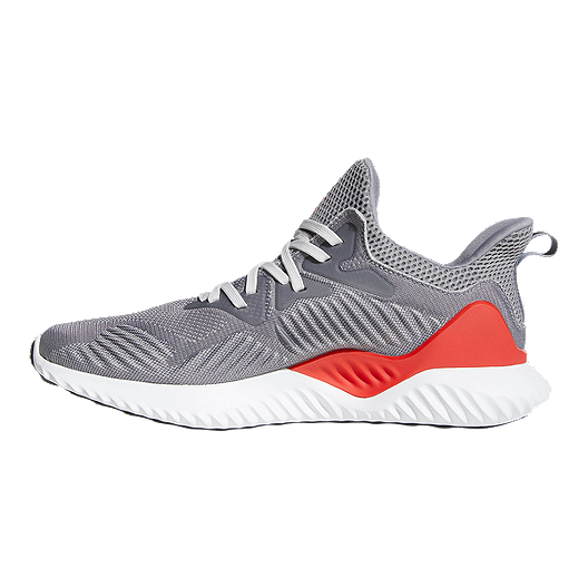 quality design 5583f 2cd44 adidas Men s AlphaBounce Beyond Running Shoes - Grey Red