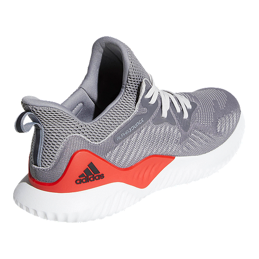 8b56bf3f7 adidas Men s AlphaBounce Beyond Running Shoes - Grey Red