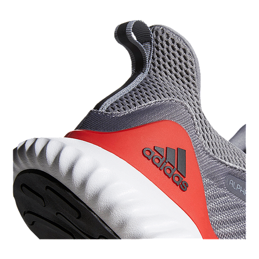 d08dc78a3312 adidas Men s AlphaBounce Beyond Running Shoes - Grey Red