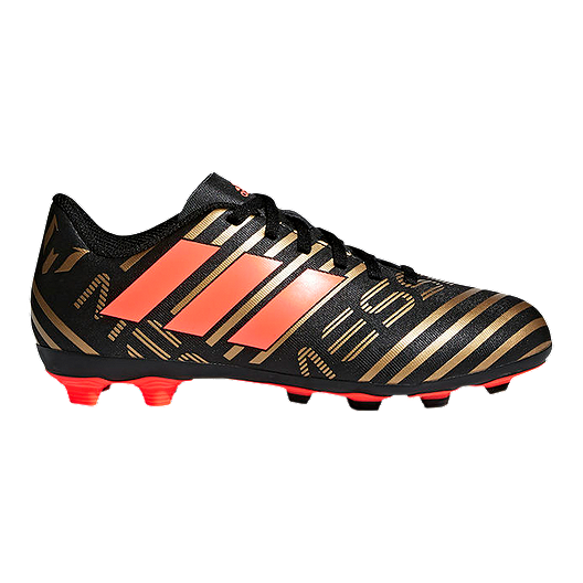 7f888c00a adidas Kids' Nemeziz Messi 17.4 FG Outdoor Soccer Cleats - Black | Sport  Chek