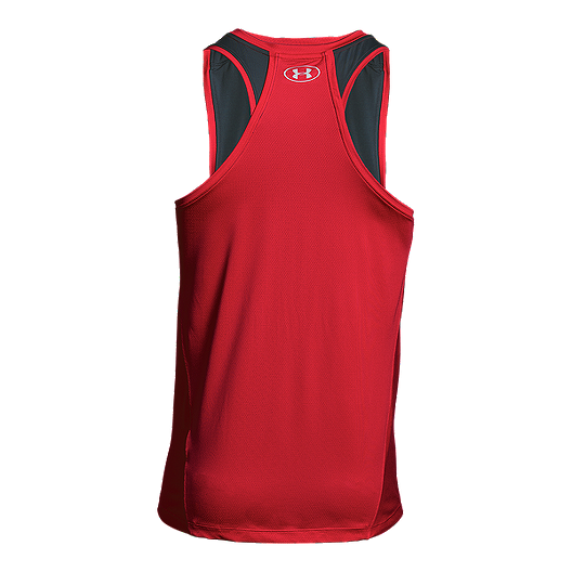 Under Armour Mens CoolSwitch Run Singlet