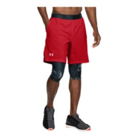 Under Armour Men's Launch Long 2 In 1 Shorts