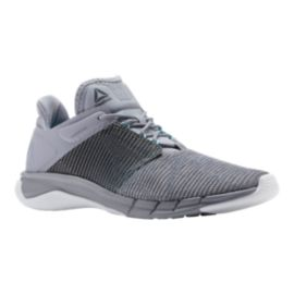 Reebok Women's Fast Flexweave Running Shoes - Grey/Blue/White