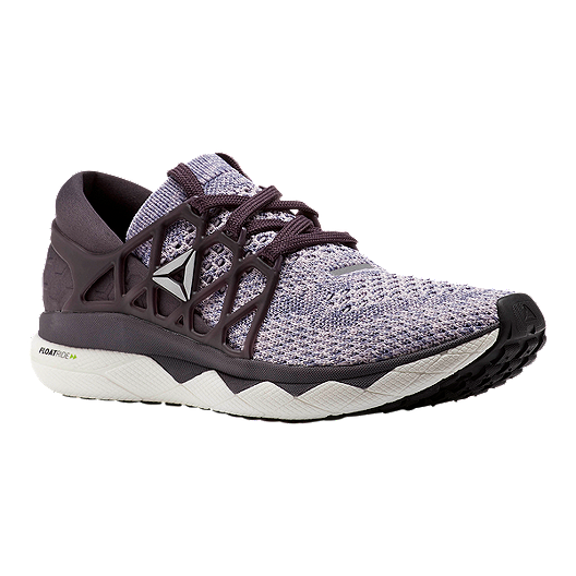 e23691c25 Reebok Women s Floatride Run EX UltraKnit Running Shoes - Grey Purple