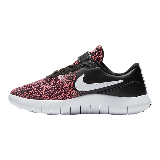 de3832c7ae630 Nike Girls  Flex Contact Alternative Closure Preschool Shoes - Black Pink.  (0). View Description