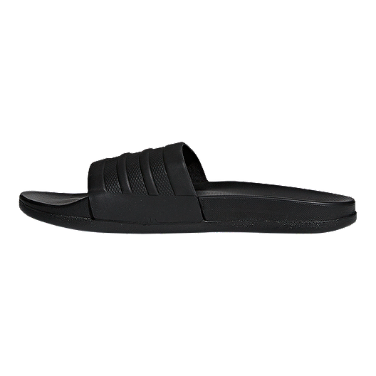 0bcf1b421611d adidas Women's Adilette CloudFoam Plus Sandals - Black | Sport Chek