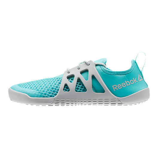 bf97093913 Reebok Women s Aqua Grip TR Water Shoes - Turquoise Skull Grey ...
