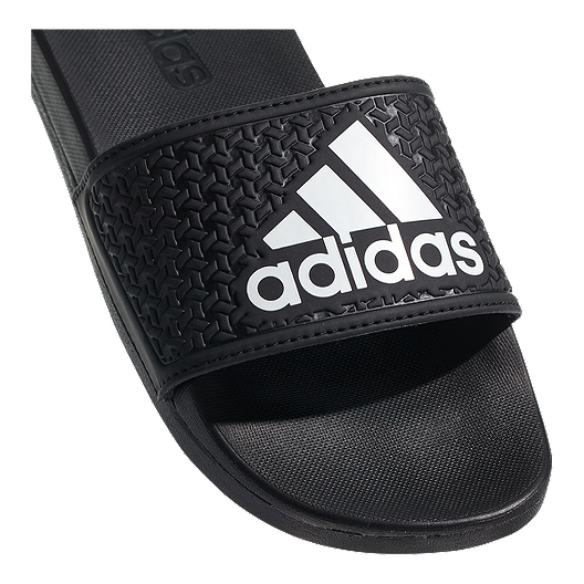 13696d0d6bb9 adidas Kids  Adilette Sandals - Black White. (2). View Description