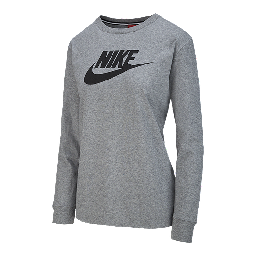 3db08f586b1e3f Nike Sportswear Women s Essential HBR Long Sleeve Shirt