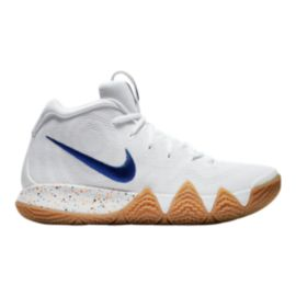 Nike Men's Kyrie 4 Basketball Shoes - White/Royal/Gum