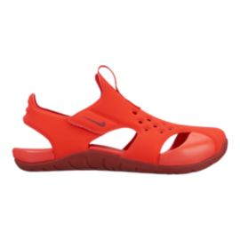 Nike Kids' Sunray Protect 2 Preschool Sandals - Red/Dark Red
