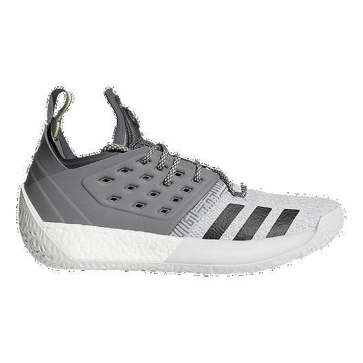 adidas Men's Harden Vol 2 Basketball Shoes SilverGrey