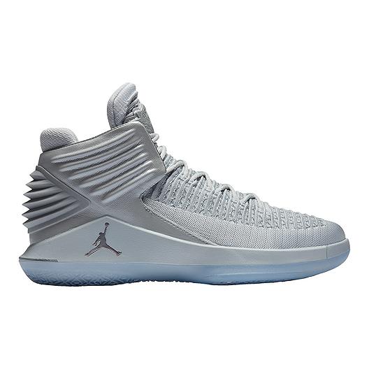 59601e21000 Nike Men's Jordan XXXII Basketball Shoes - Platinum | Sport Chek