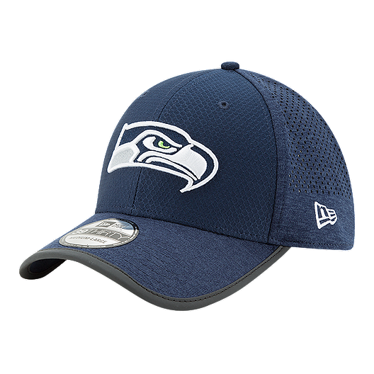 save off a88e7 5409e Seattle Seahawks New Era Official Training 39THIRTY Cap - Blue   Sport Chek