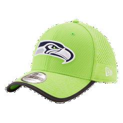 Seattle Seahawks New Era Official Training 39THIRTY Cap - Green ... da7709532