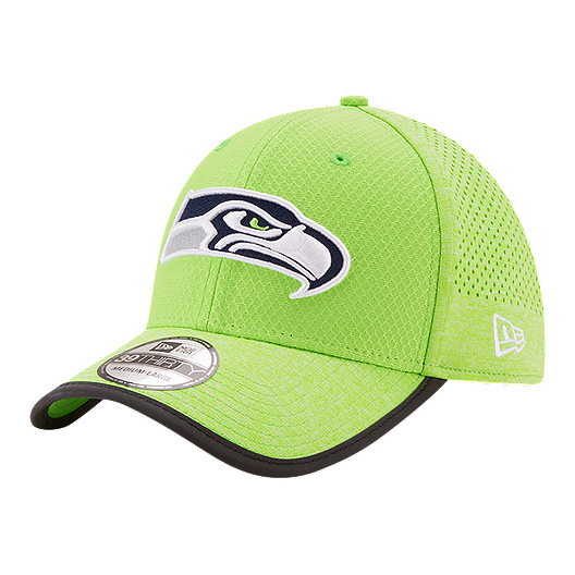 best service 0394f 143a3 Seattle Seahawks New Era Official Training 39THIRTY Cap - Green   Sport Chek