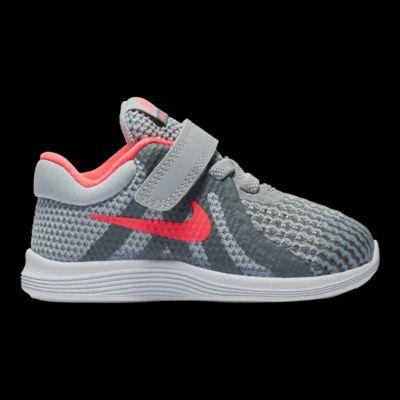 sports shoes d956a 431c8 ... sale netherlands nike toddler girls sko revolution 4 sko girls grå  lyserød sport chek 2b8966 058ff