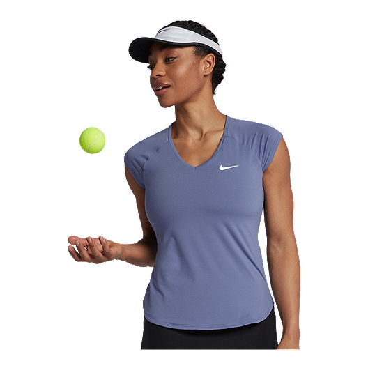 Grasa Propiedad calina  Nike Women's Tennis Court Pure Short Sleeve Shirt | Sport Chek