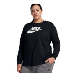 Nike Sportswear Women's Long Sleeve Plus Size Shirt