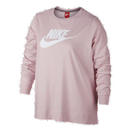 dcf41c11c0fa Nike Sportswear Women s Long Sleeve Plus Size Shirt