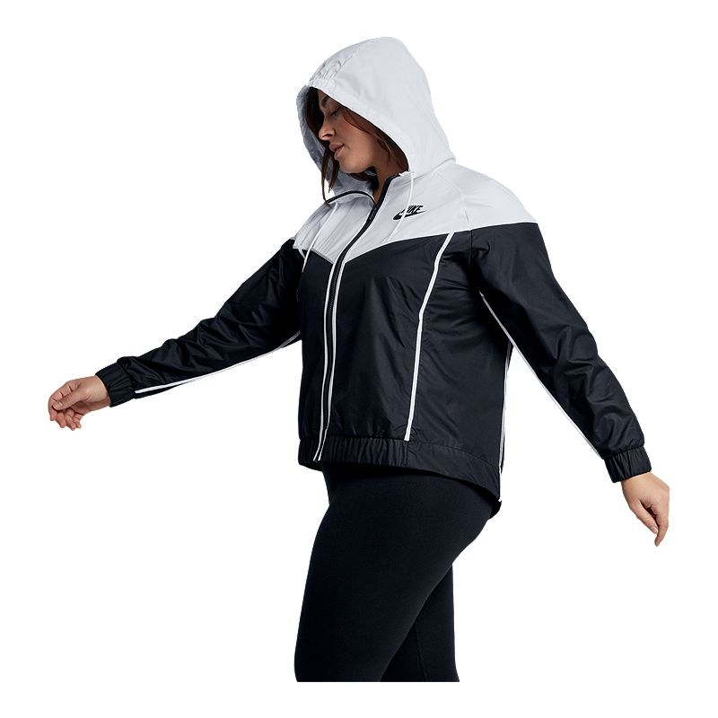 Nike W NSW WR JKT Plus Jacke Damen Mehrfarbig (Guava Ice