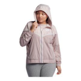 0f122498e4a Nike Sportswear Women s Windrunner Plus Size Jacket