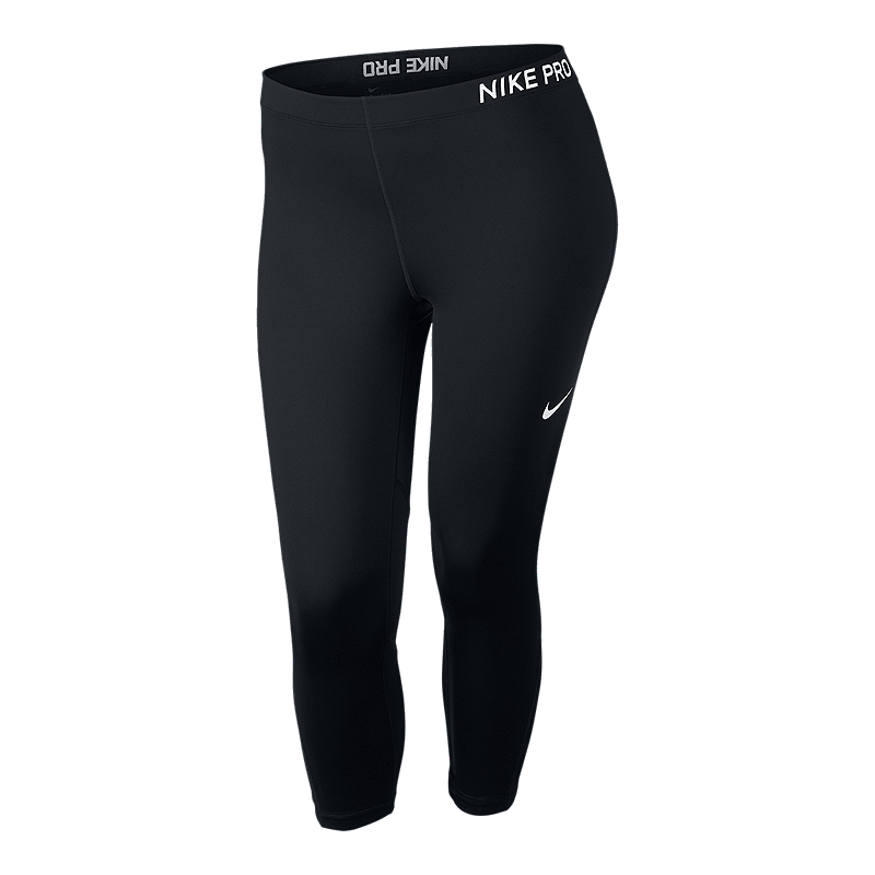 519b858582a09 Nike Women s Pro Plus Size Capri Tights