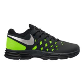 Nike Men's Lunar Fingertrap 4E Extra Wide Width Training Shoes - Black/Silver