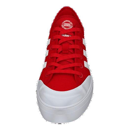 objetivo léxico Dormido  adidas Kids' Matchcourt Grade School Skate Shoes - Red/White | Sport Chek