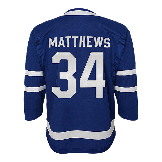 premium selection 07afe 8ec92 Toronto Maple Leafs Toddler Auston Matthews Home Hockey Jersey