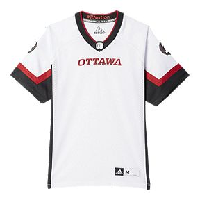 720fbbece Ottawa Redblacks adidas Men s Replica Away Jersey