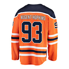 7e1b1b1985f Edmonton Oilers Ryan Nugent Hopkins Fanatics Breakaway Home Hockey Jersey