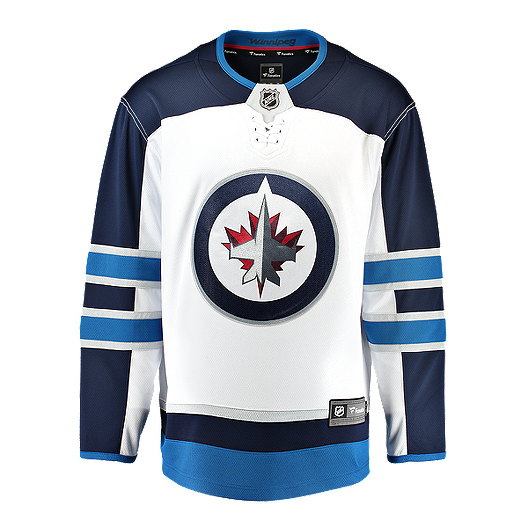 new arrival 5947a 495dd Winnipeg Jets Fanatics Breakaway Away Replica Hockey Jersey