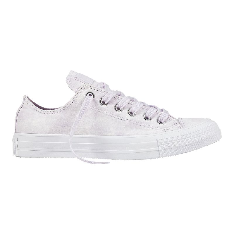 ce0fe0afbf1e Converse Women s Chuck Taylor All Star OX Shoes - Barely Grape  (888755200117) photo