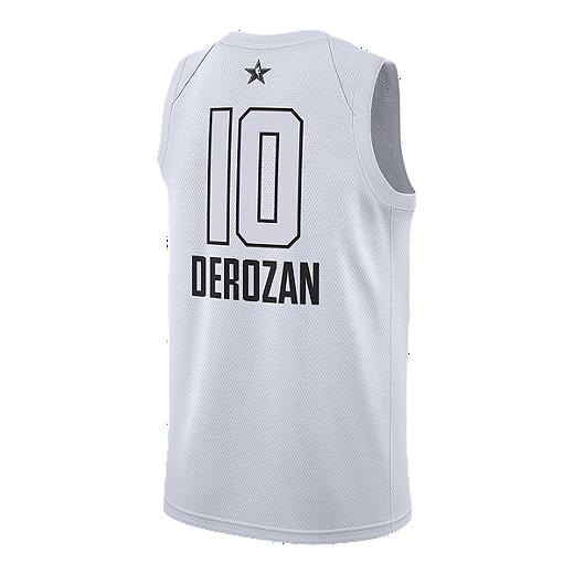 buy online 7ae31 1c6c6 Toronto Raptors DeMar DeRozan All Star Basketball Jersey ...