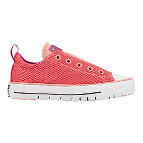 dfc27ec5e07d Converse Girls  Chuck Taylor All Star Hyper Light Shoes - Pink White