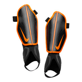 Nike Protegga Flex Soccer Shin Guard - Black/Total Orange