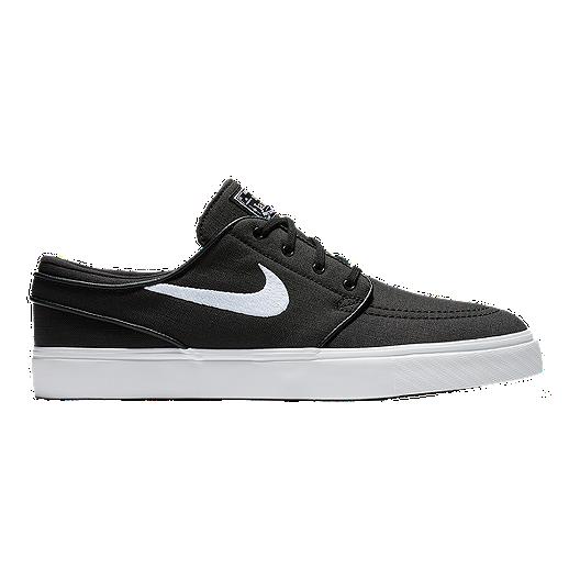922ea71b Nike Men's Zoom Janoski Canvas Skate Shoes - Black/White | Sport Chek