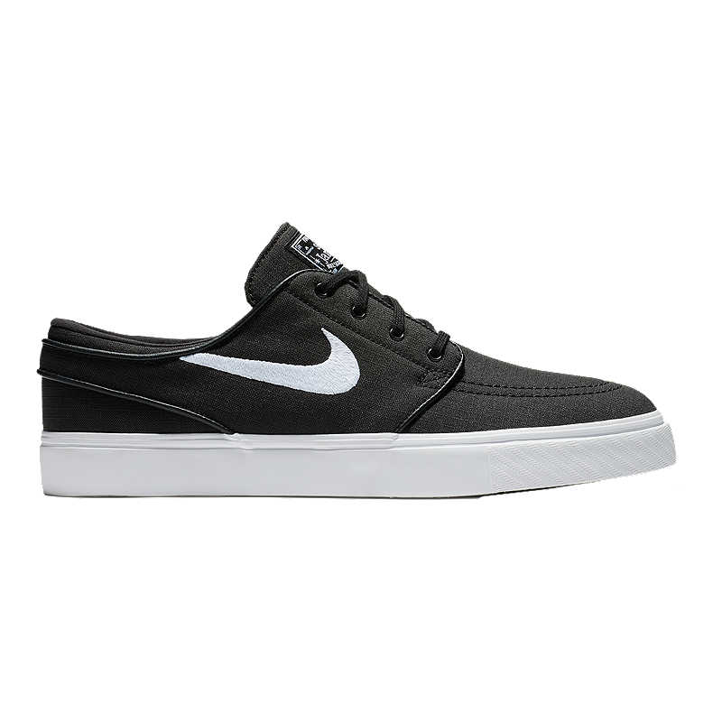 d3bef97e40ab Nike Men s Zoom Janoski Canvas Skate Shoes - Black White